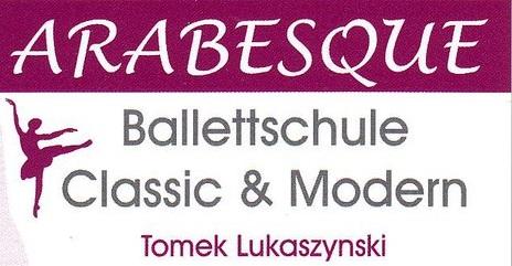 Arabesque Ballettschule Hof Logo